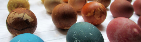 DIY Natural Dye Easter Eggs